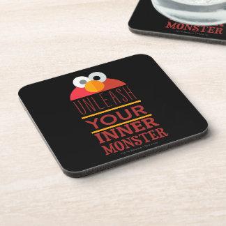 Elmo Inner Monster Beverage Coaster