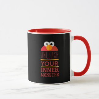Elmo Inner Monster Mug