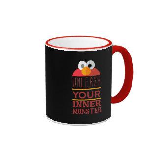 Elmo Inner Monster Ringer Coffee Mug