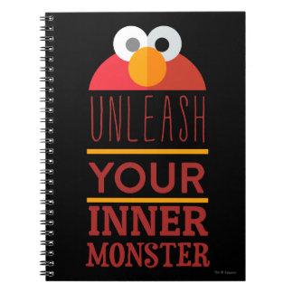 Elmo Inner Monster Note Book