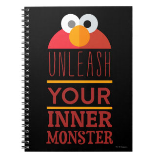 Elmo Inner Monster Notebook