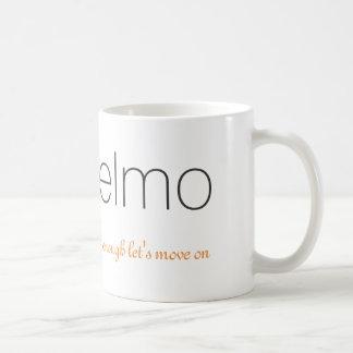 Elmo & Logo Mug   Enough Let's Move On