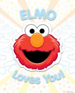 Elmo Art & Wall Décor | Zazzle