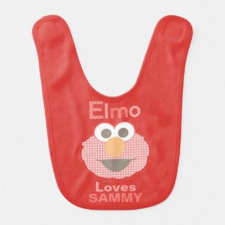 Elmo Loves You Baby Bibs