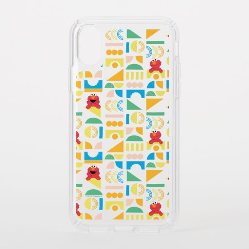 Elmo Minimalist Pattern Speck iPhone X Case