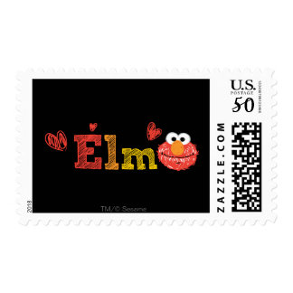 Elmo Name Postage