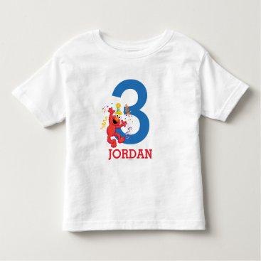birthday Elmo Neutral Birthday Toddler T-shirt