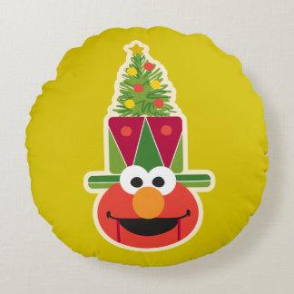 Elmo Nutcracker Round Pillow