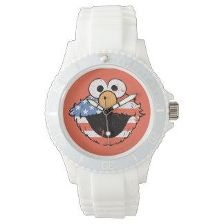 Elmo patriótico - apenado relojes