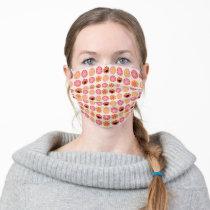 Elmo Pom-Pom Pattern Adult Cloth Face Mask