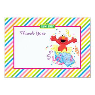 """Elmo rayó cumpleaños le agradece cardar invitación 3.5"""" x 5"""""""