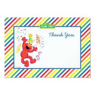 """Elmo rayó cumpleaños le agradece las tarjetas invitación 3.5"""" x 5"""""""