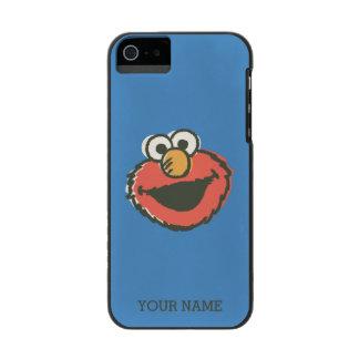 Elmo Retro Wallet Case For iPhone SE/5/5s