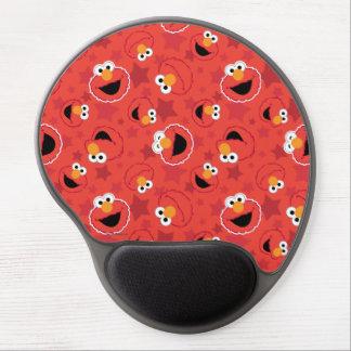 Elmo rojo hace frente al modelo alfombrilla de ratón con gel