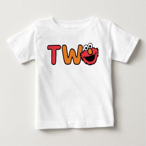 Elmo Second Birthday Baby T-Shirt