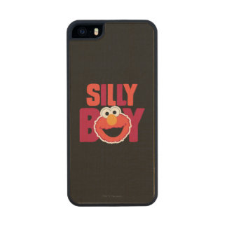 Elmo Silly Carved® Maple iPhone 5 Slim Case