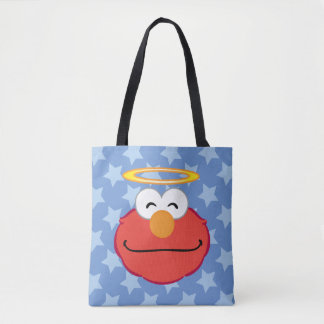 Elmo Smiling Face with Halo Tote Bag