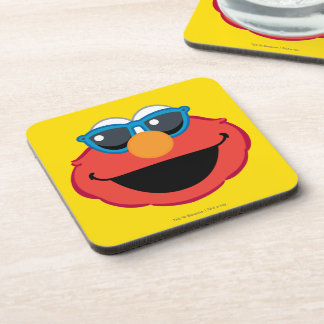 Elmo  Smiling Face with Sunglasses Beverage Coaster
