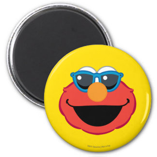 Elmo  Smiling Face with Sunglasses Magnet