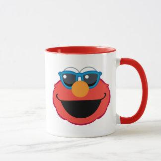 Elmo  Smiling Face with Sunglasses Mug