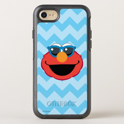 Elmo  Smiling Face with Sunglasses OtterBox Symmetry iPhone SE/8/7 Case