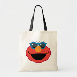 Elmo  Smiling Face with Sunglasses Tote Bag