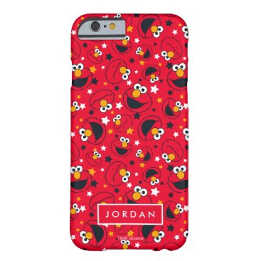 Elmo | So Silly Star Pattern | Add Your Name Barely There iPhone 6 Case