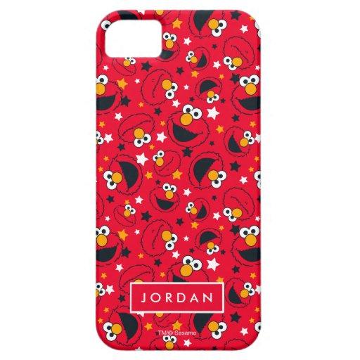 Elmo | So Silly Star Pattern | Add Your Name iPhone SE/5/5s Case