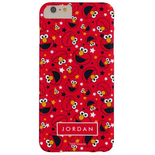Elmo | So Silly Star Pattern | Add Your Name Barely There iPhone 6 Plus Case