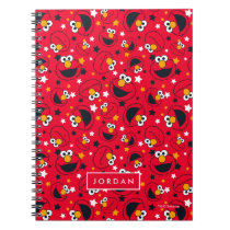 Elmo | So Silly Star Pattern | Add Your Name Notebook