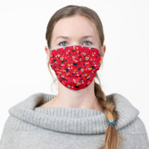 Elmo | So Silly Star Pattern Adult Cloth Face Mask