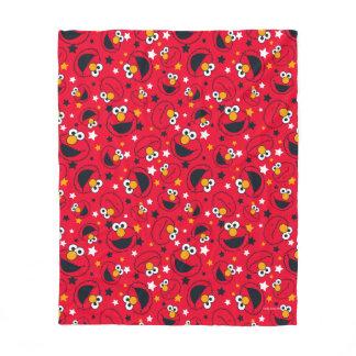 Elmo | So Silly Star Pattern Fleece Blanket