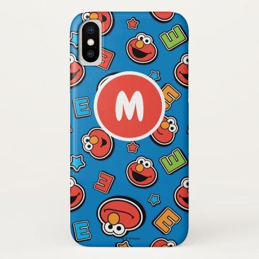 Elmo Sticker Pattern iPhone X Case