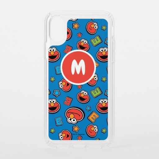 Elmo Sticker Pattern Speck iPhone X Case