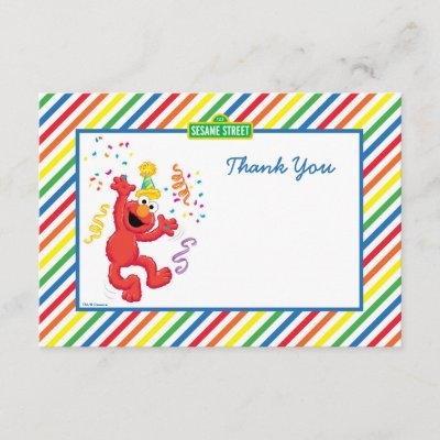 Dr Seuss The Cat In The Hat Birthday Thank You Zazzle Com