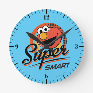 Elmo Super Smart Comic Round Clock