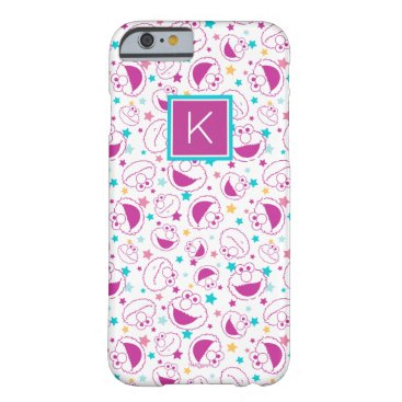 Elmo | Sweet & Cute Star Pattern | Monogram Barely There iPhone 6 Case
