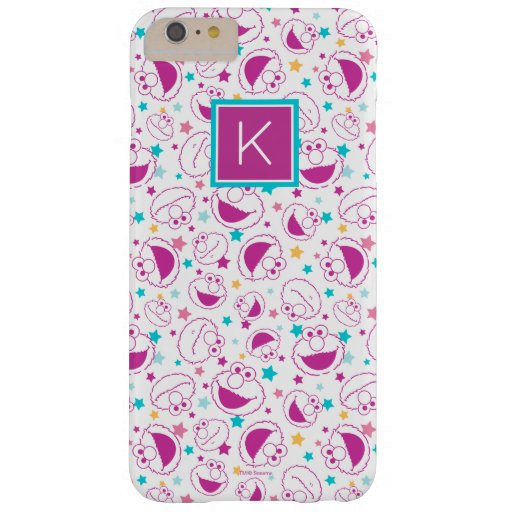 Elmo | Sweet & Cute Star Pattern | Monogram Barely There iPhone 6 Plus Case