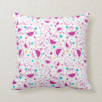 Elmo | Sweet & Cute Star Pattern Throw Pillow