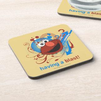 ¡Elmo - tener una ráfaga! Posavasos De Bebidas