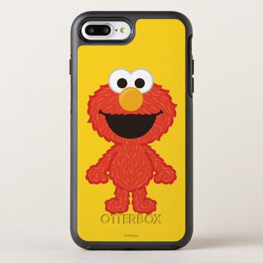 Elmo Wool Style OtterBox Symmetry iPhone 8 Plus/7 Plus Case