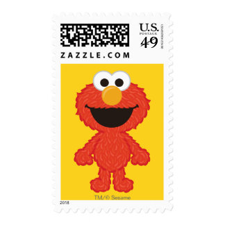 Elmo Wool Style Postage Stamps