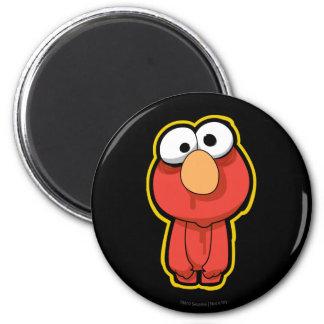 Elmo Zombie 2 Inch Round Magnet