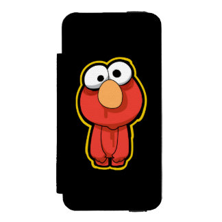 Elmo Zombie | Add Your Name iPhone SE/5/5s Wallet Case