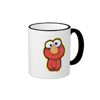 Elmo Zombie Ringer Coffee Mug