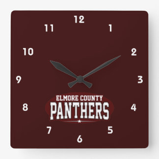 Elmore County High School; Panthers Clock