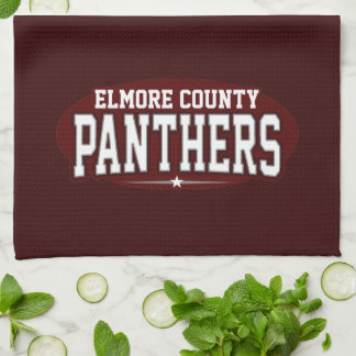 Elmore County High School; Panthers Hand Towels
