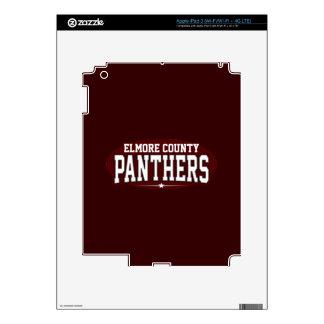 Elmore County High School; Panthers iPad 3 Skin