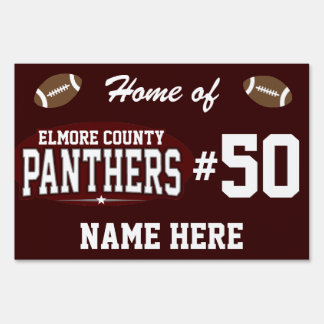 Elmore County High School; Panthers Lawn Signs