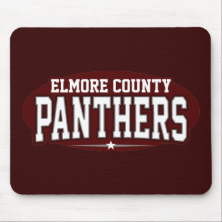 Elmore County High School; Panthers Mouse Pad